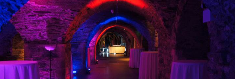 Reception in Crypt