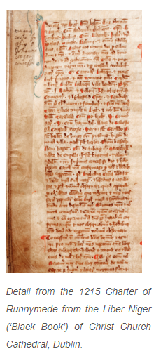 Magna Carta- History Ireland Website